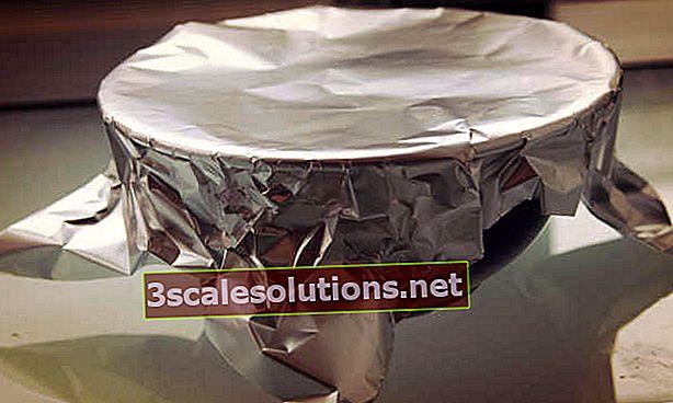 Foglio di alluminio: come usare e scartare