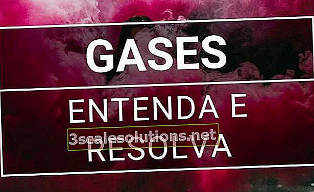 Gaasid: sümptomid ja kuidas probleem kõrvaldada